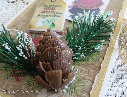 Вот  сотворились  еще  шоколадницы  к  Новому году... фото 3