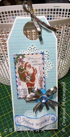 Вот  сотворились  еще  шоколадницы  к  Новому году... фото 9