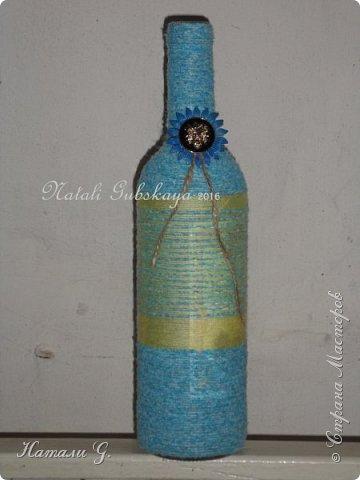 Декор бутылок (разные)-7 фото 3