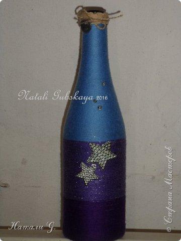 Декор бутылок (разные)-7 фото 4