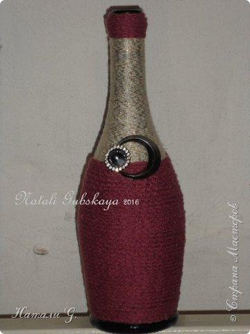 Декор бутылок (разные)-7 фото 10