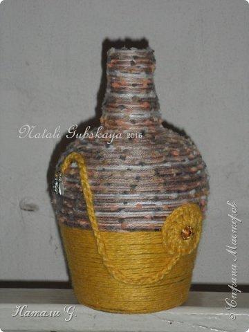 Декор бутылок (разные)-7 фото 5