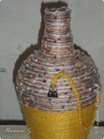 Декор бутылок (разные)-7 фото 6