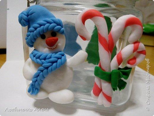 Баночка для конфеток или печенюшек и ложечки, как мне представляется для горячего шоколада)))) фото 2