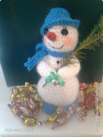 Снеговичок готов к Новому году!