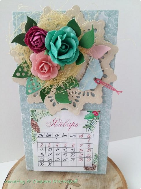 Календари-магниты на холодильник ) фото 4
