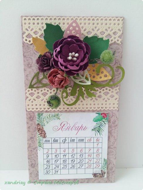 Календари-магниты на холодильник ) фото 1