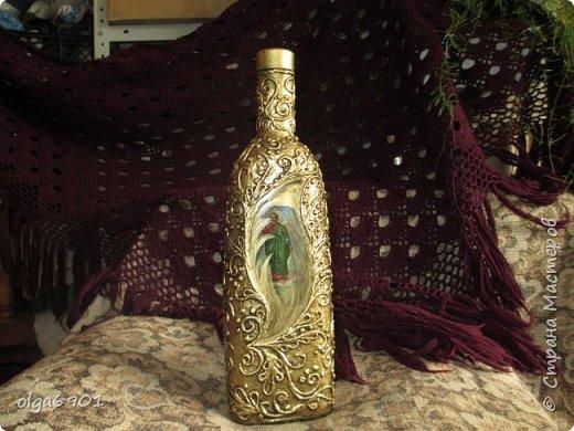 Здравствуйте, жители Страны! Вот на ваш суд бутылочки для святой воды.  У центрально бутылочки сердечко -окошечко, чтобы было видно уровень воды. фото 3