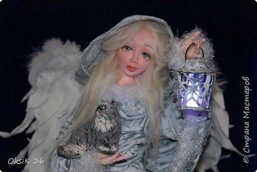 Ангел домашнего очага.Это полноценный светильник. фото 1