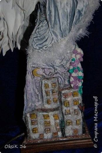 Ангел домашнего очага.Это полноценный светильник. фото 2