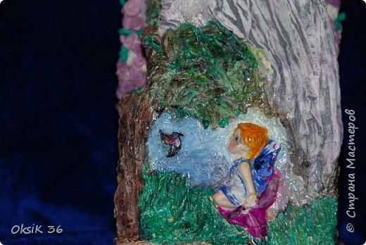 Ангел домашнего очага.Это полноценный светильник. фото 7
