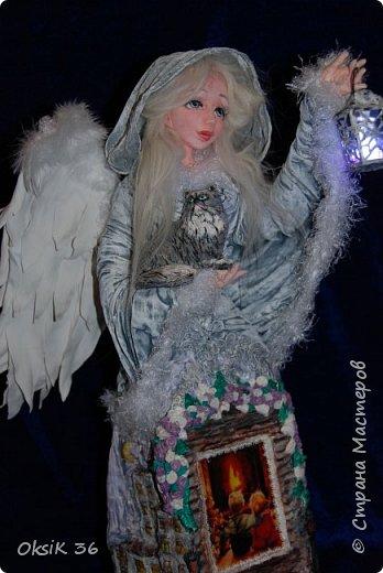 Ангел домашнего очага.Это полноценный светильник. фото 9