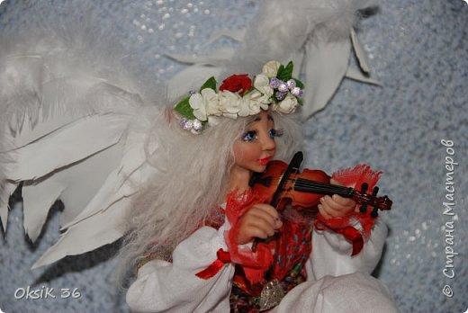 Ангел домашнего очага.Это полноценный светильник. фото 11