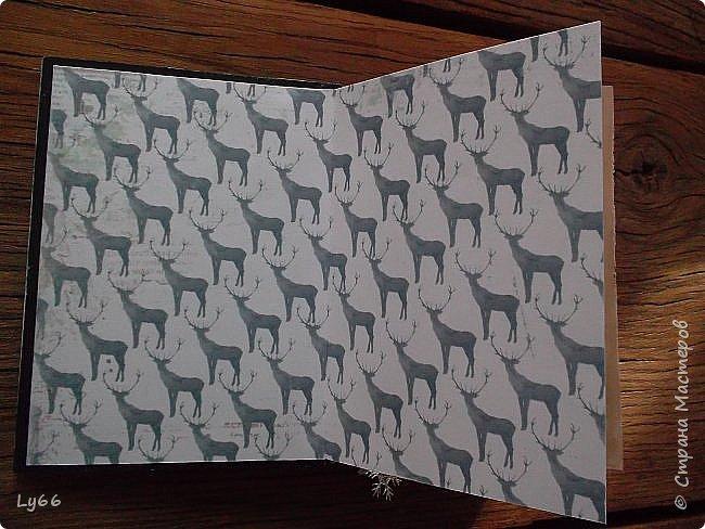 Добрый день, дорогие жители Страны! Как и обещала, показываю еще один блокнотик.  Буду краткой - А6, 120 листов, тонированных в кофе со специями, 2 разделителя. Крепление на резинку, закладочка. фото 4