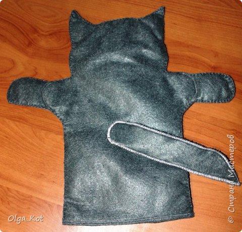 И еще рукавички для кукольного театра (ДЕД,БАБКА. ВОЛК,ЛИСА, ЗАЯЦ, КУРОЧКА, КОЛОБОК,МЕДВЕДЬ) фото 16