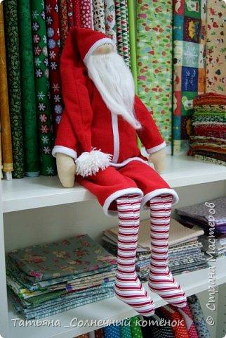 Санта Клаус в стиле Тильда фото 1