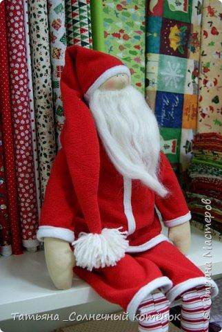 Санта Клаус в стиле Тильда фото 2