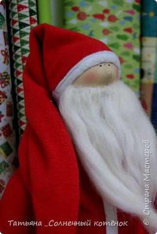 Санта Клаус в стиле Тильда фото 3