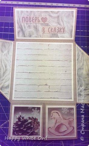 Всем привет!  Сегодня покажу Вам открытку, которую сделала ещё недели 2 назад, но никак не получалось её выложить. МК здесь https://www.youtube.com/watch?v=ujFdr2pSH5Q&t=15s. Сразу хочу сказать, что МК я не смотрела, взяла оттуда только структуру открытки, поэтому возможны отличия. Размеры, как всегда взяла свои. Схему смотрите в самом конце. фото 4