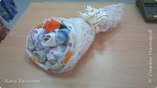 Букет для новорожденного из 7 предметов фото 1