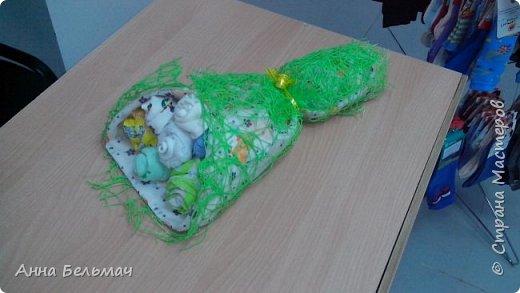 Букет для новорожденного из 7 предметов фото 2