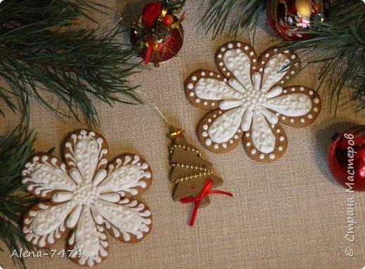 Готовимся к Новому году. Имбирные пряники. фото 2