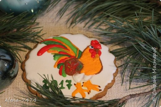 Готовимся к Новому году. Имбирные пряники. фото 7