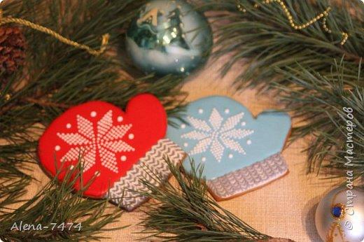 Готовимся к Новому году. Имбирные пряники. фото 5