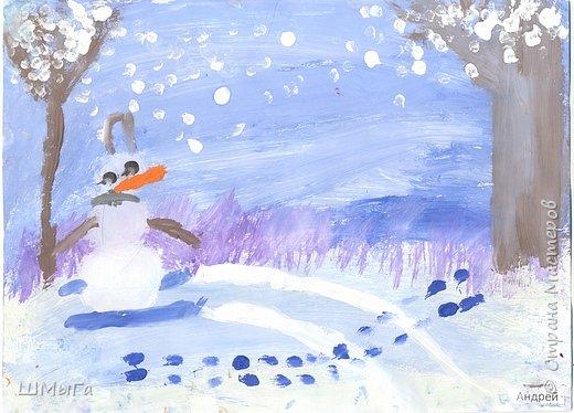 Рисовали на уроке детки второго класса. фото 3