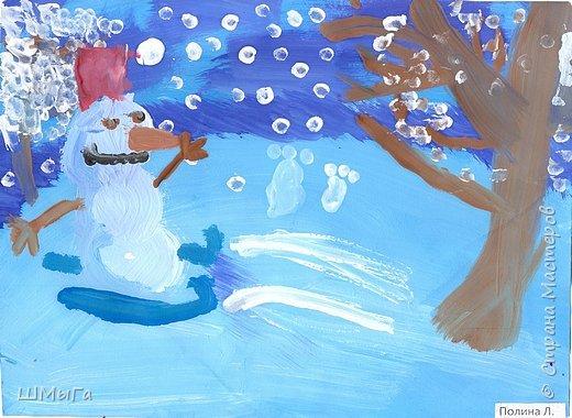 Рисовали на уроке детки второго класса. фото 9