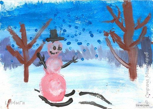 Рисовали на уроке детки второго класса. фото 11