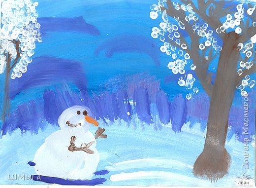 Рисовали на уроке детки второго класса. фото 4
