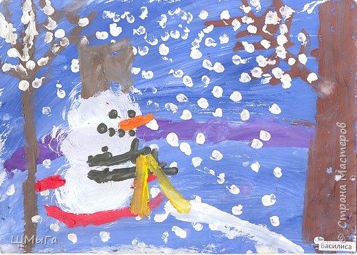 Рисовали на уроке детки второго класса. фото 2