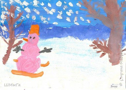 Рисовали на уроке детки второго класса. фото 7