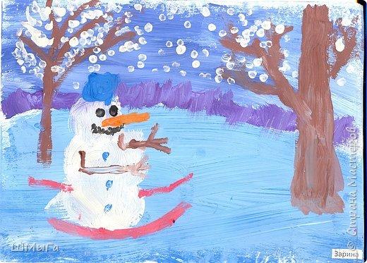 Рисовали на уроке детки второго класса. фото 6