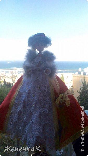 Мои красавицы! Вот, что можно сделать из ненужных кукол, лохматых и раздетых)))) фото 10