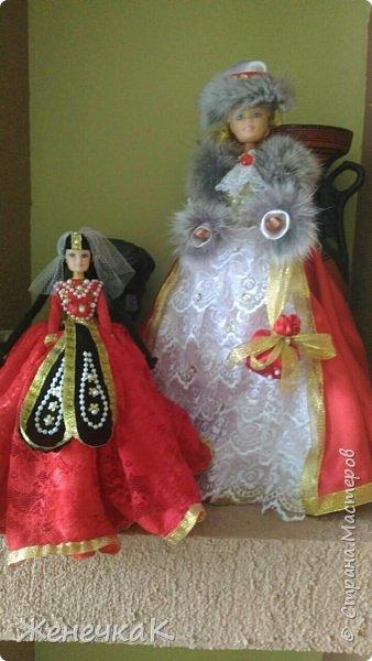 Мои красавицы! Вот, что можно сделать из ненужных кукол, лохматых и раздетых)))) фото 13