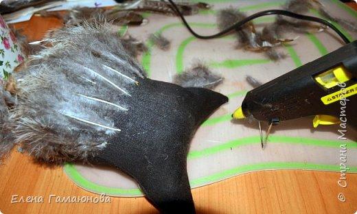 Чудо в перьях или Совушка с часами фото 4