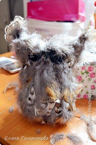 Чудо в перьях или Совушка с часами фото 6