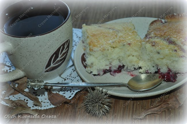 Здравствуйте. Обязательно попробуйте этот нежный-нежный пирог. Для этого пирога подходят любые фрукты-ягоды. Без фруктовой начинки он не менее вкусный. Рецепт легкий, готовится быстро, на вкус мягкое нежное лакомство. Особенно понравится сладкоежкам. фото 2