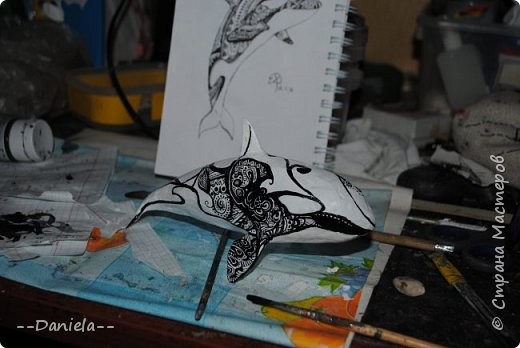 Недавно поняла, что безумно люблю касаток... и хочу себе такую:) http://stranamasterov.ru/node/1061374 Ну а что, хочу - надо сделать!  фото 14
