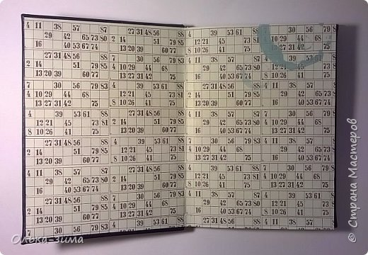 Добрый  день. Сегодня я покажу работу выполненную по мастер-классу Ольги Лисовенко. Блокнот формата А5, 80 простых листов из альбома для рисования. Застёжка на резинке. фото 2