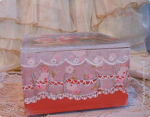Здравствуйте,девочки!!! Эти коробочки мне присылала Вера /Мадамочка/ из Белоруссии     и долго они ждали своего часа и вот дождались,посетила муза,как их сделать. фото 9