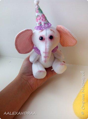 У меня есть друг слонёнок, Он совсем ещё ребёнок, Тем не менее сполна Уж похож он на слона. Хобот у него и уши- Чтобы маму с папой слушать. У него четыре ножки, Словно столбики в сапожках. Хвостик сзади не торчит,  А верёвочкой висит. Бивней у слонёнка нет, Будут через много лет. От природы непоседа, Ходит он за мамой следом. Постоянно он в походах Ощущает мамин хобот. Ведь в походах, может статься, Можно в джунглях затеряться. Чтоб конфузу не случиться , Маме в хвост нужо вцепиться. Так они идут играя, Долгий путь одолевая. Всё у них всегда ладком, Хвост же служит поводком.    Г.Ронин фото 5