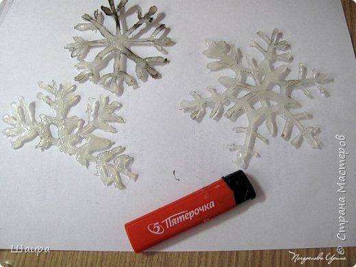 """Подвеска """"Снежинки"""" 30 см.  фото 3"""