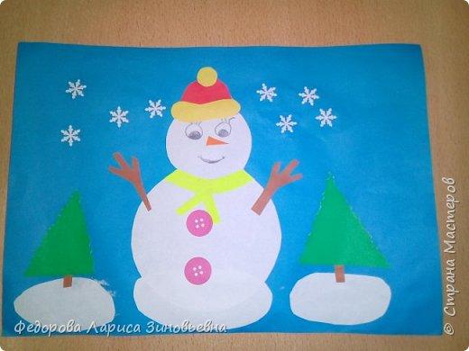 Добрый день всем. Не за горами уже и Новый год. Как всегда в школах с детьми делается очень много поделок на новогоднюю тему. Вот и мы с ребятами тоже начали подготовку к этомк всеми любимому празднику. Этих снеговиков сделали ученики 4 класса. фото 4