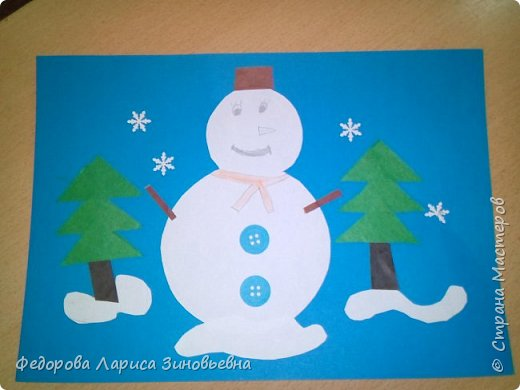 Добрый день всем. Не за горами уже и Новый год. Как всегда в школах с детьми делается очень много поделок на новогоднюю тему. Вот и мы с ребятами тоже начали подготовку к этомк всеми любимому празднику. Этих снеговиков сделали ученики 4 класса. фото 8