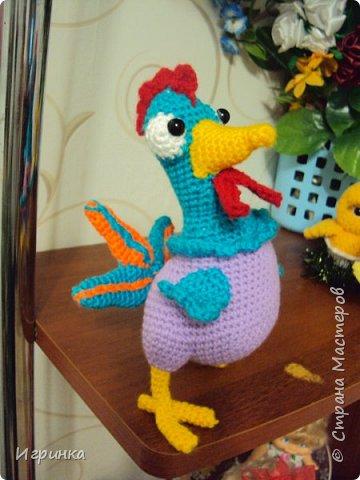 Здравствуйте все жители нашей Страны! Новогодний курятник пополняется. Правда, этот малыш не из семейства петушиных, но все-равно птыц! фото 3