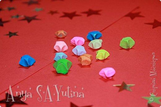 Привет) В этом видеоуроке я расскажу и покажу вам, как сделать эти звёзды счастья оригами. Чтобы посмотреть урок, спуститесь чуть ниже по странице:) фото 2