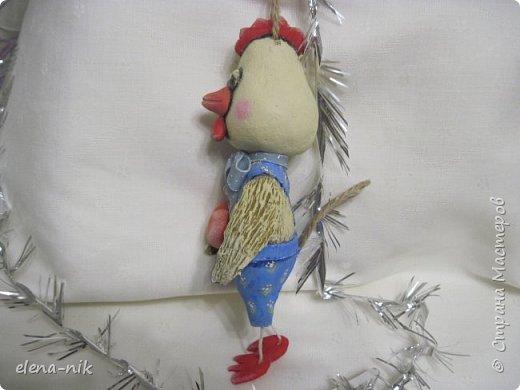 Петушиная пора в разгаре. Вслед за цветочными петушками спешит покрасоваться папьешный петушок.  фото 4